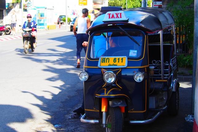 タイでの交通手段も選ばないと高くつきます