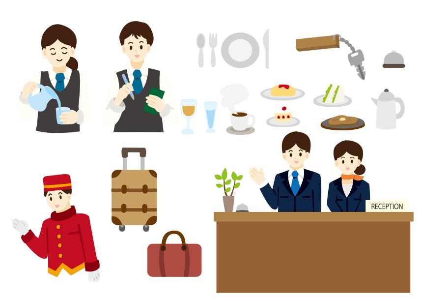 ホテルにもたくさんの日本人が働いているのはタイだから